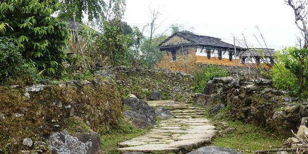 Le village du Gurung