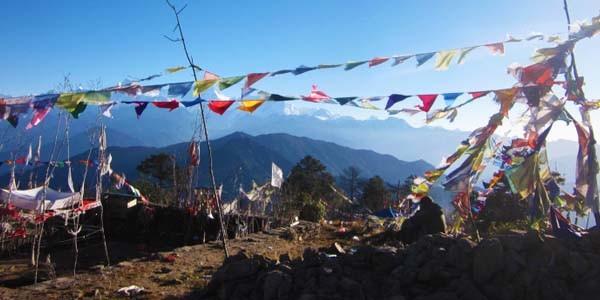 L'haut lieu religieux Hindouiste dans la region du Kanchenjunga