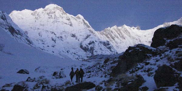 camp de base Machhapuchhare