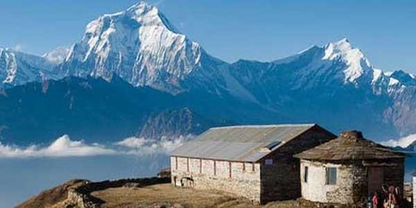 les belle vue du Dhaulagiri