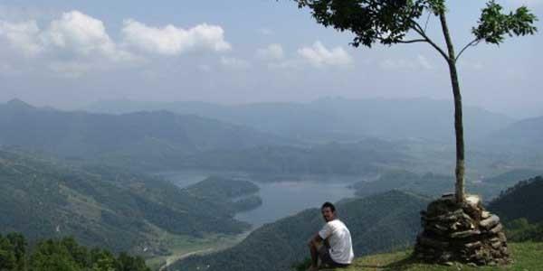 spactaculari vue du lac Begnas