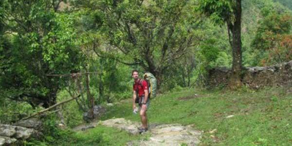 trekking au vallee de Pokhara