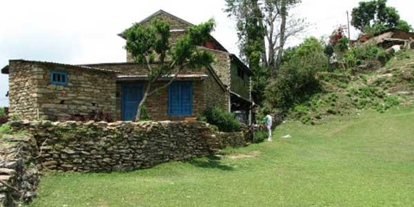 village autour du lac Begnas