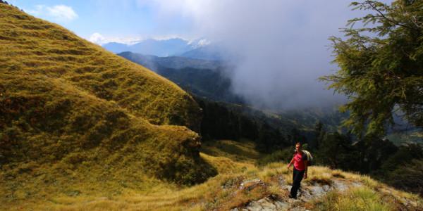 Sur le trek Mohare Hill dans les Annapurnas