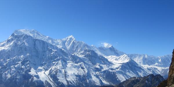 Super vue des Himalayas